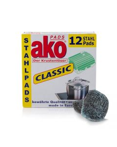 ako Pads 12er Classic Stahlpads